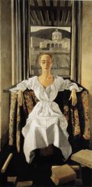 Felice Casorati - Silvana Cenni-1920