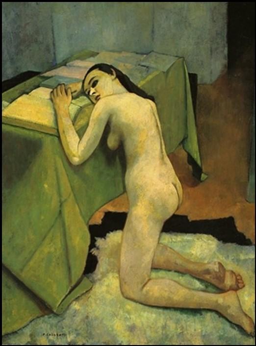 Felice Casorati - Vocazione,1939