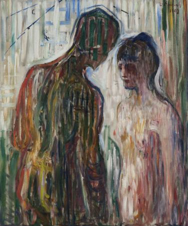 Edvard Munch - Cupid-and-psyche-1907