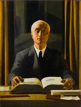 Felice Casorati - Riccardo Gualino,1922