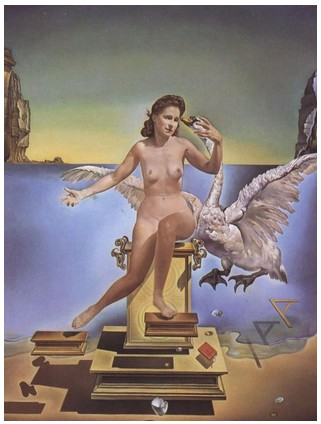 Salvador Dalì - Leda Atomica, 1949