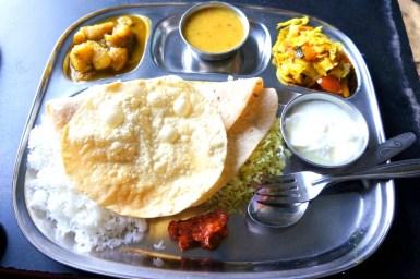 Thali (kuchnia północnych i południowych Indii)
