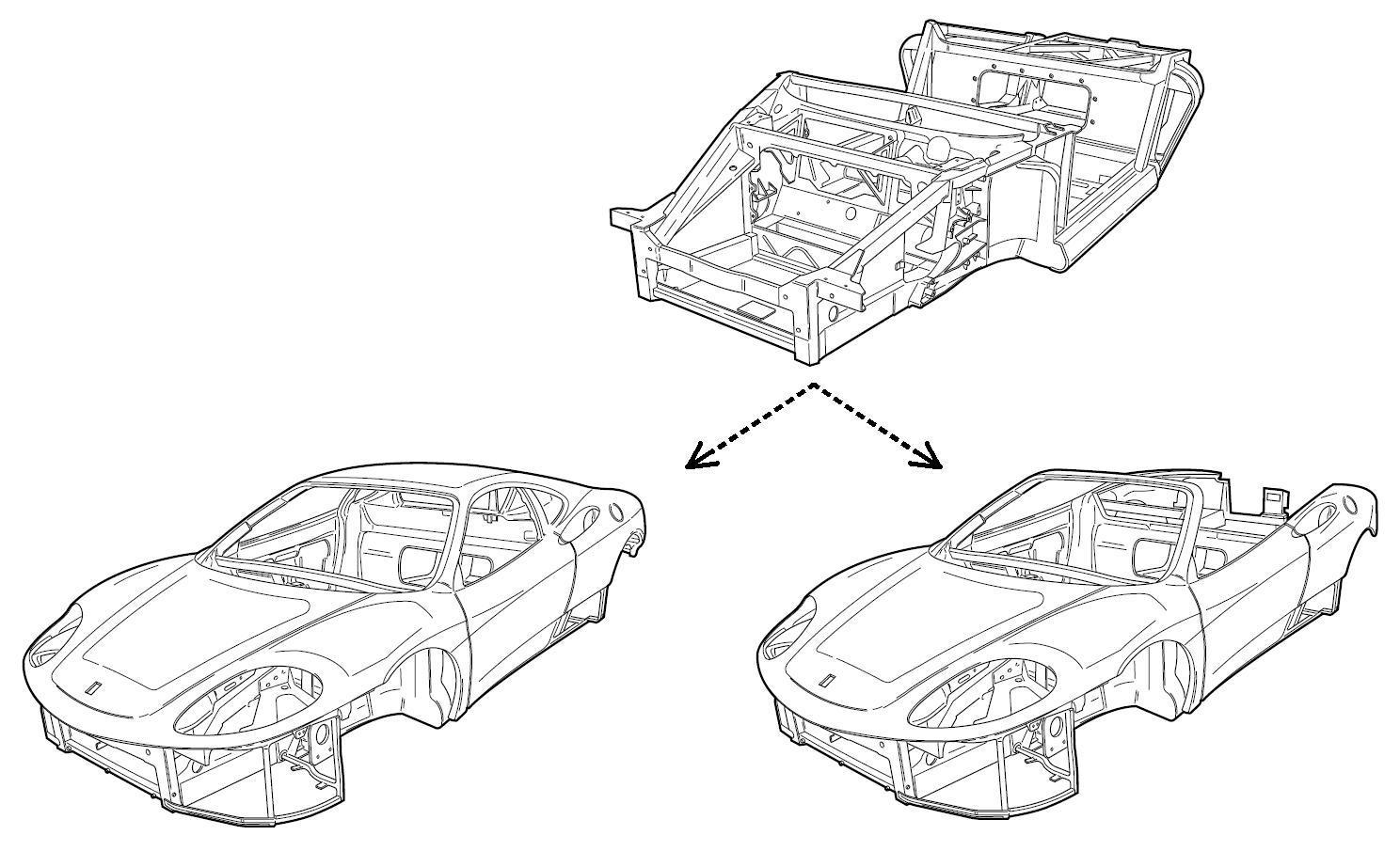 Ferrari 360 Spider Roof Aldous Voice