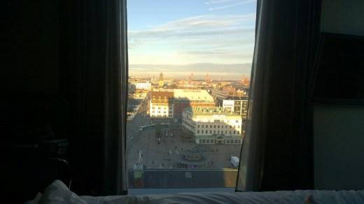 Clarion Hotel Post udsigt