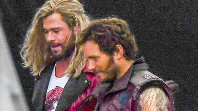 Chris Hemsworth, Chris Pratt shooting Thor Love and Thunder in Sydney