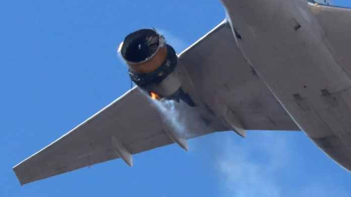Frantic mayday call before engine explosion