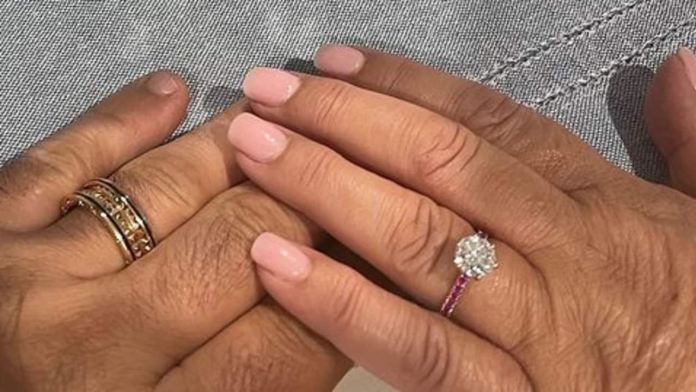 Gogglebox star Anastasia announces engagement with picture of ring
