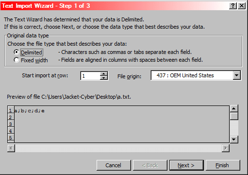 Cara Import Text File Ke Excel