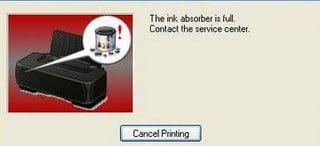 Cara Reset Printer Canon Dengan Software Resetting Printer
