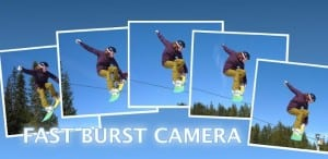 Mengambil Objek Foto Yang Cepat Dengan Fast Burst Camera