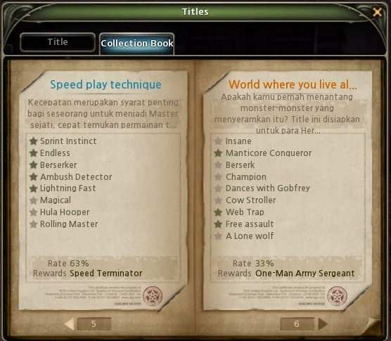 Title One Man Sergeant Army Dragon Nest Indonesia