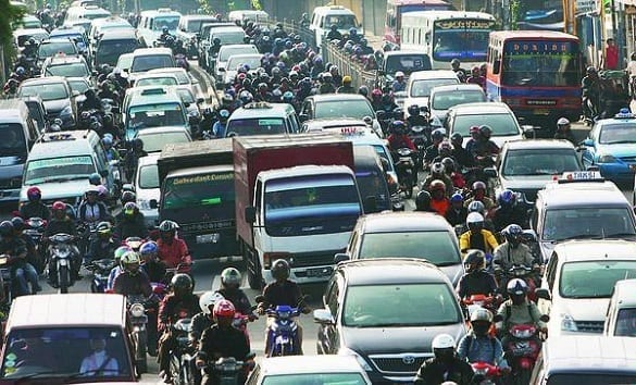 Kemacetan Kota Jakarta Semakin Parah