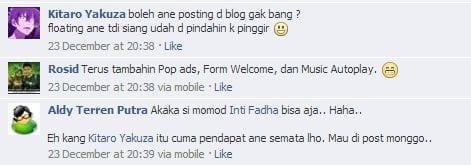 Mengganggu Pengunjung Blog