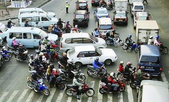 Kemacetan Dan Kecelakaan Bermotor