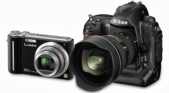 Perbandingan Kamera Mini dengan DSLR