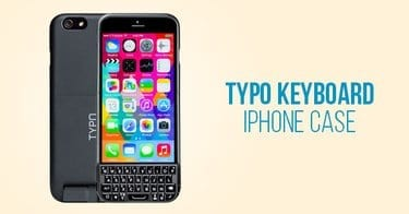 Typo Keyboard iPhone Case