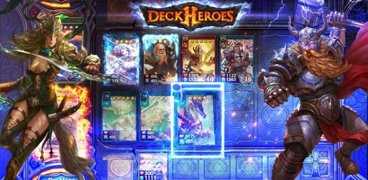 Review, Tips dan Trik Bermain Game Deck Heroes