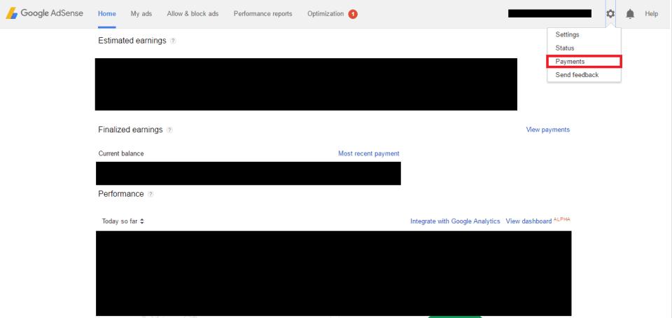 Pembayaran Google Adsense Indonesia