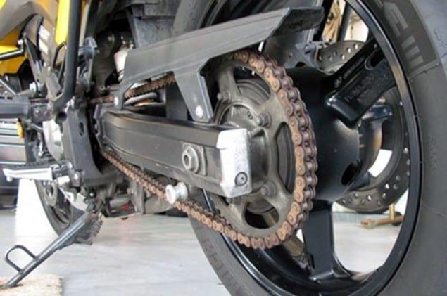 Rantai dan Kampas Rem Motor