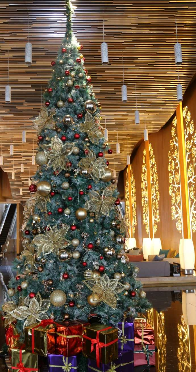 Christmas Tree Grand Mercure Kemayoran