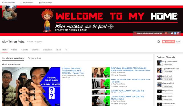 Malas Membuat Video Youtube