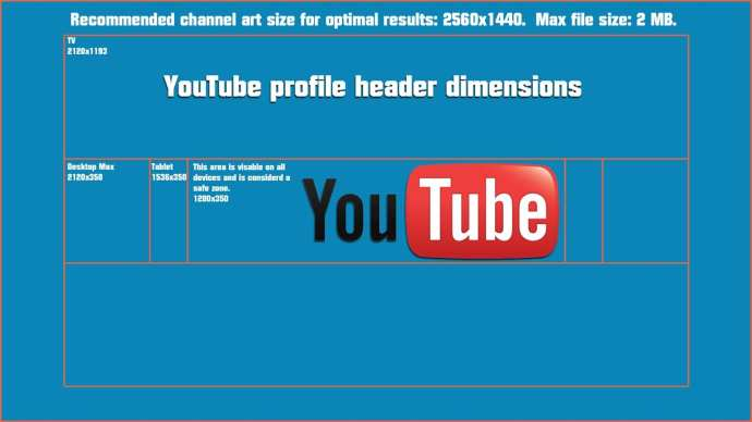 Ukuran Channel Art Youtube