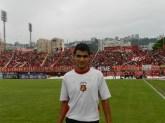 Ale y la Barra Roja. Estadio Universitario UCV