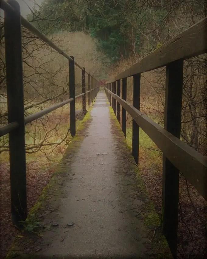 Walk over the bridge