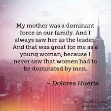 Dominant woman quote