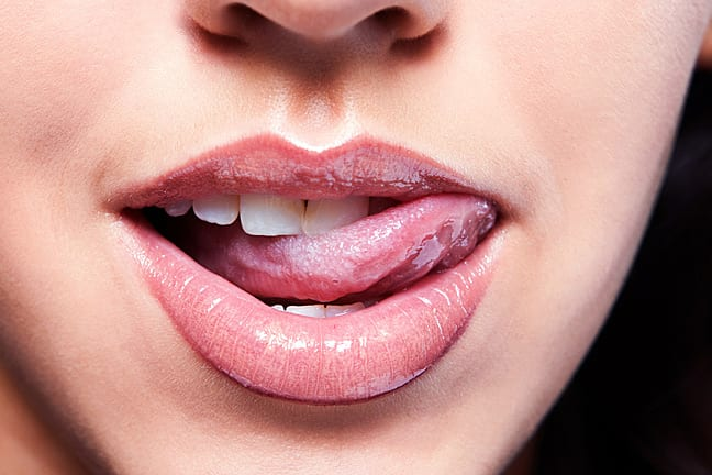 Beautiful mouth from Youbeauty.com shared on there's a first time for everything.