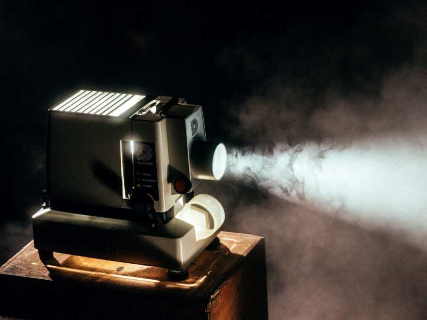 Picture of a vintage projector courtesy of Jeremy Yap on Unsplash for Notorious