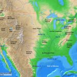 Usa Contiguous Usa Physical Map A Learning Family