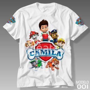 Camiseta Patrulha Canina 001