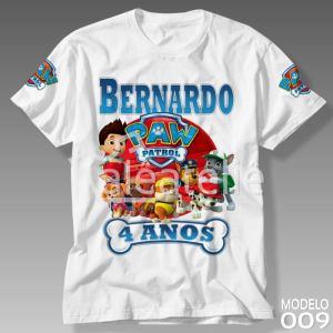 Camiseta Patrulha Canina 009
