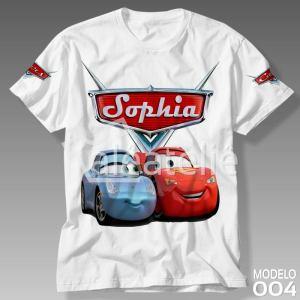 Camiseta Carros Disney Sally
