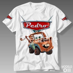 Camiseta Carros Disney Mate