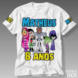 Camiseta Jovens Titans 001