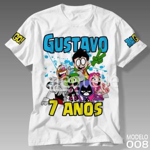 Camiseta Jovens Titans 008