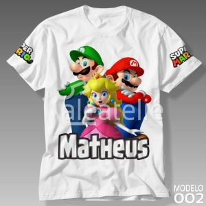 Camiseta Super Mario Bros 002
