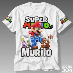 Camiseta Super Mario Bros 004