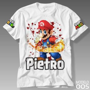Camiseta Super Mario Bros 005