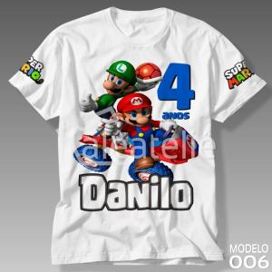 Camiseta Super Mario Bros 006