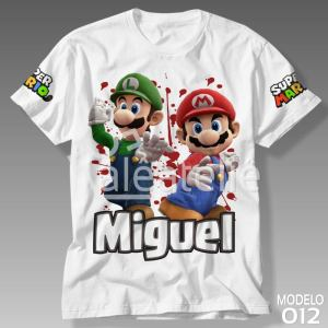 Camiseta Super Mario Bros 012