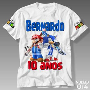 Camiseta Super Mario Bros 014