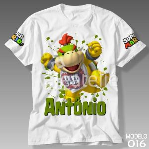 Camiseta Bowser Jr