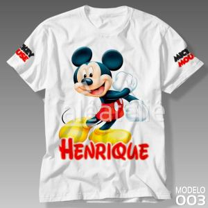 Camiseta Mickey Mouse 003