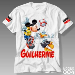 Camiseta Mickey Mouse 004