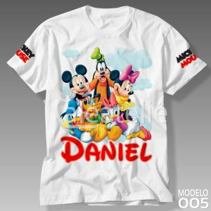 Camiseta Mickey Mouse 005