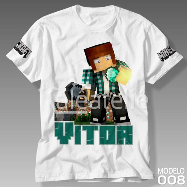 Camiseta Minecraft Authenticgames