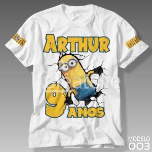 Camiseta Minions 003